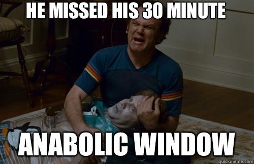 anabolic window meme