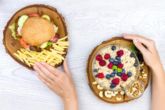 Good vs bad nutrition