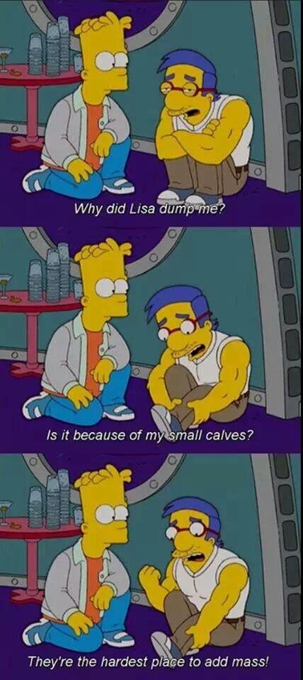 Milhouse Calf Muscle Add Mass