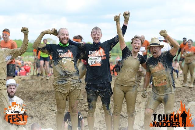 brad ledson tough mudder finish